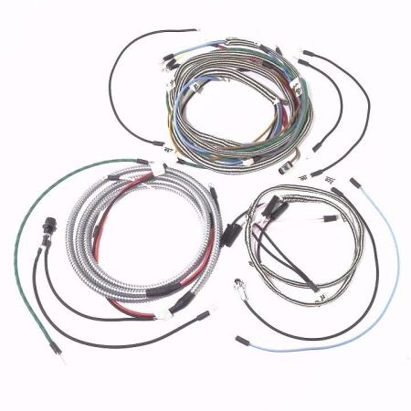 IHC/Farmall 340 Gas Row Crop Complete Wire Harness (10SI