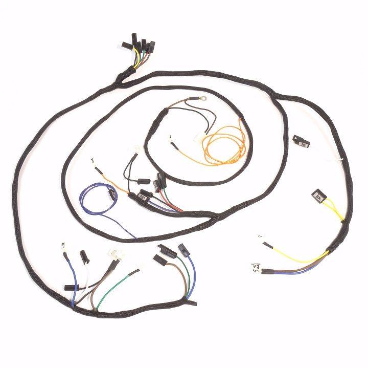 John Deere 4020 Diesel Row Crop Complete Wire Harness (Up