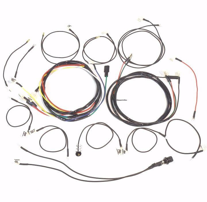 John Deere 330 & 430 Gas Complete Wire Harness (1 Wire