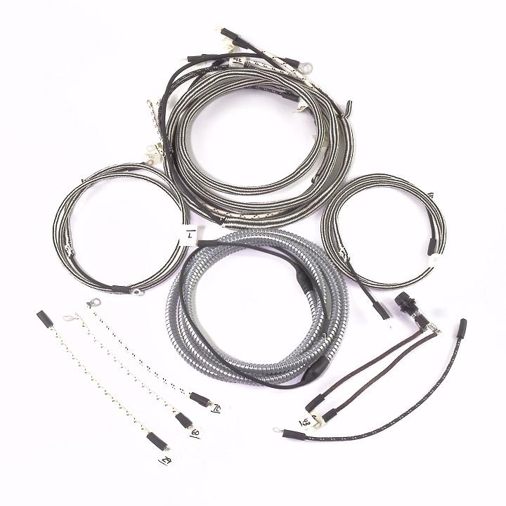 IHC/Farmall O4, OS4 Complete Wire Harness (Voltage