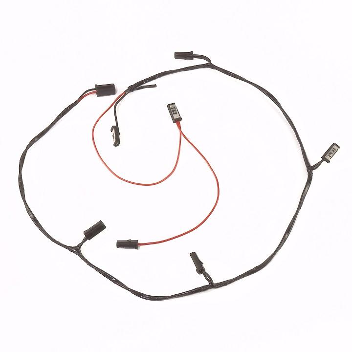 Minneapolis Moline M670 Super, Gas & LP Complete Wire