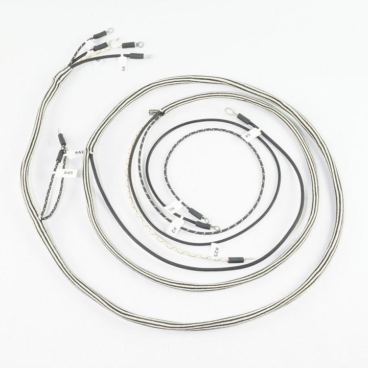 IHC/Farmall W9 Complete Wire Harness (1 Wire Alternator