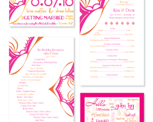 Billow Wedding Stationery