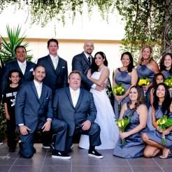 Lopez Moryl Wedding - bridal party