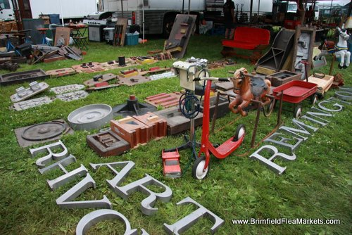 Creative Re-purposing of Brimfield Merchandise