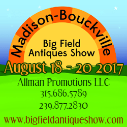 Madison Bouckville Big Field Antiques Show - 2017