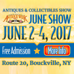 Madison Bouckville Antique Week June 2017
