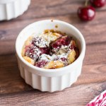 Cherry Almond Clafoutis