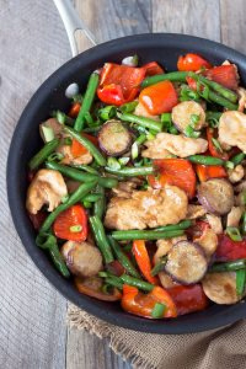 how to cook stir fry chicken and vegetables
