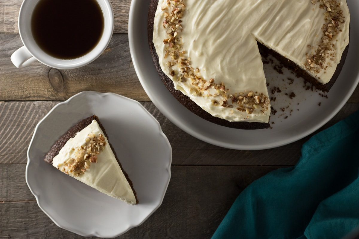 Pumpkin-Ginger Black Tea Cake with Cream Cheese Frosting ...