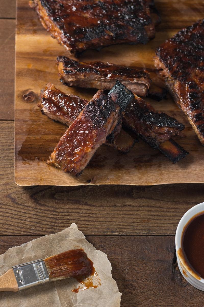 Korean Barbecue Spare Ribs | Brinasbites.com @Brina's Bites