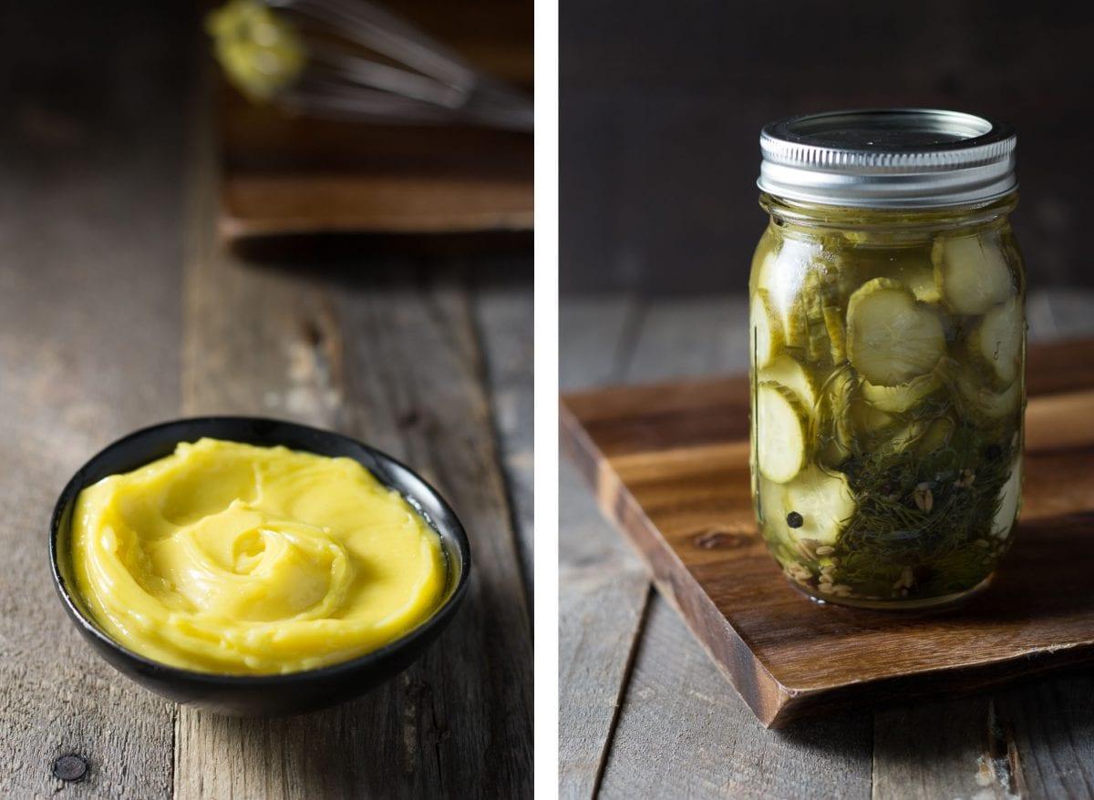 Classic Cheeseburger with Homemade Dill Pickles & Mayo | Brinasbites.com @Brina's Bites
