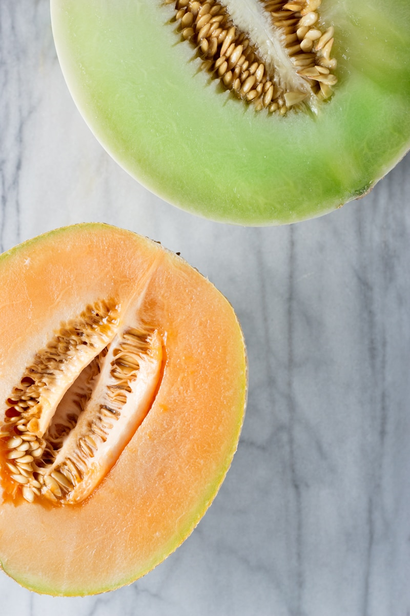 Melon Ice Cream & Granita | Brinasbites.com @Brina's Bites