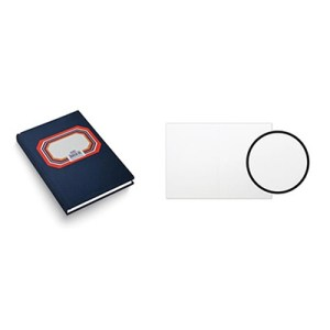 Livro 1/8 liso - 100 folhas