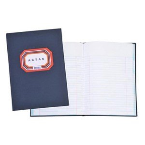 Livro de Actas de 25 linhas - 50 folhas