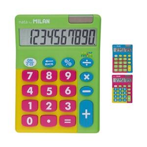 Calculadora multicolor Nata c/10 dígitos - Milan