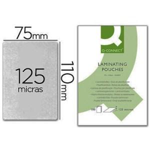 Emb. c/ 100 Bolsas Plastificar 110x75mm 125 Microns
