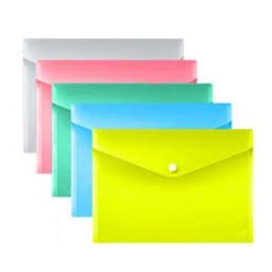 Emb. c/10 bolsas para documentos - A4