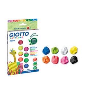 Plasticina Giotto Neon - 33grs x 8