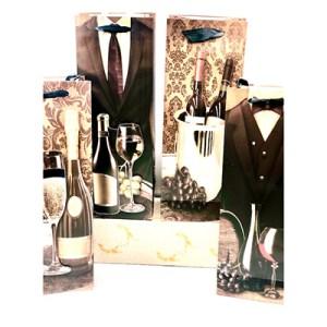 Emb. c/12 sacos garrafa - Relevo