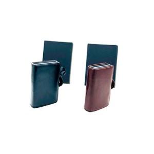 Porta-cartões duplo c/presilha