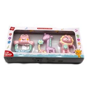 Brinquedo Bebê c/3 acessórios