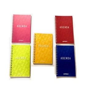 Agenda planning espiral Look 90x154 - Ambar