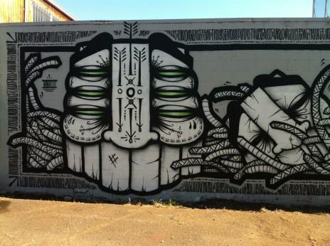 Amazing Gats mural.