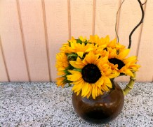 I think sunflowers are beautiful!