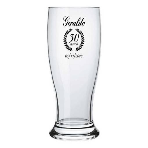 Copo para Cerveja Personalizado modelo Munich 200ml