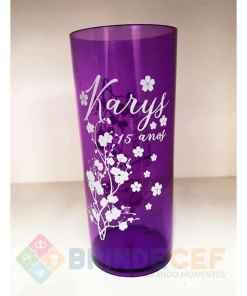 Copos Long Drink Personalizados Karys 15 Anos