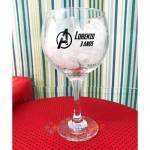 Taça de Gin de Vidro Personalizada