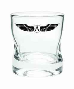 Copo Whisky Amassadinho Personalizado com capacidade 250ml usado também para água ,drink ou caipirinha Medidas: 8x8,5cm de altura Capacidade: 250ml