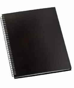 Caderno de Negócios Pequeno Capa Prime Preta