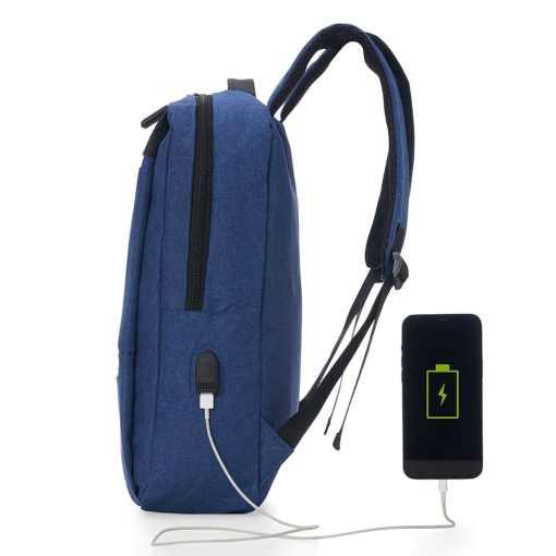 Mochila de Nylon USB 18L Personalizada