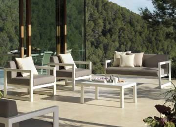 Nettoyer Salon De Jardin Pvc Blanc | Ensemble De Jardin Blanc Table ...