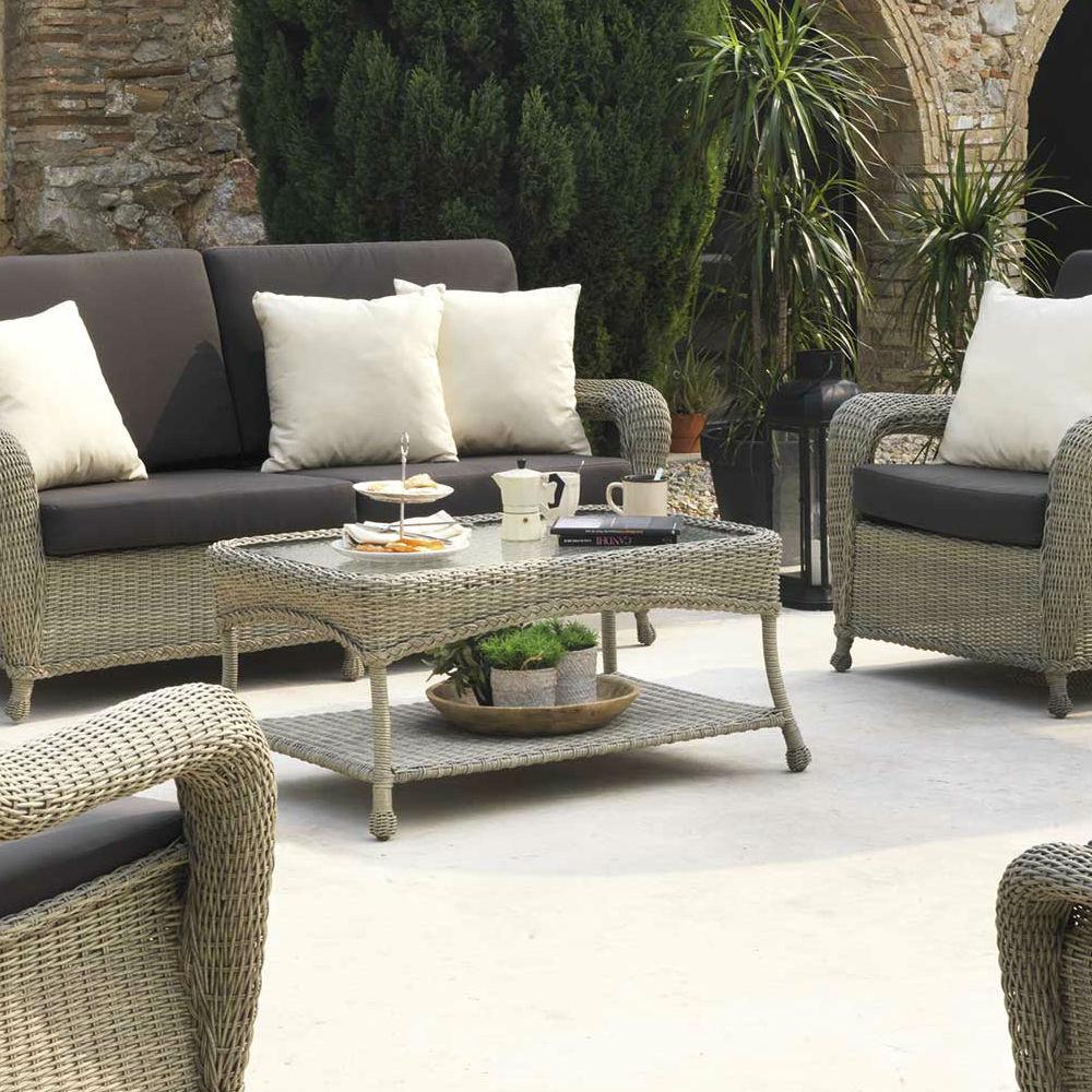 Table Basse De Jardin Couleur Taupe | Table Et Chaises De Jardin ...