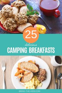 gourmet breakfast for camping