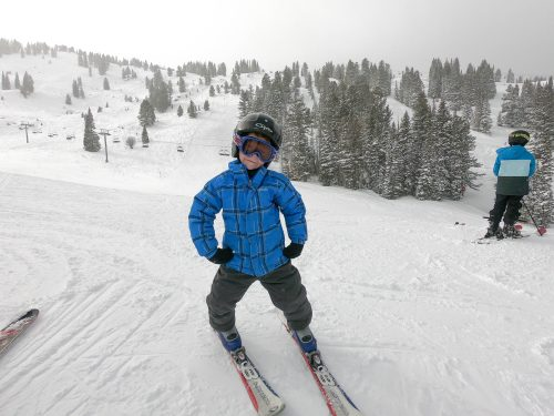 Connor Skiing