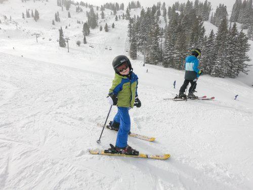 Landon Skiing