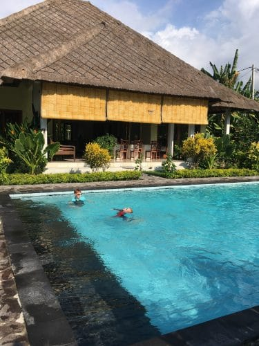 Bali rental with private pool on the beach for $80/night
