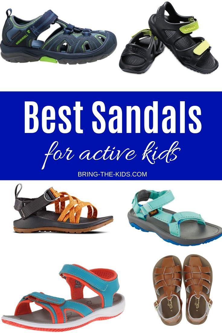 10 Best Outdoor Sandals For Active Kids