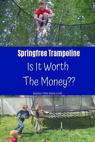 trampoline springfree family jumping