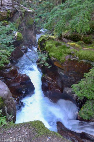 avalanche falls, avalanche creek