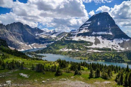hidden lake overlook views
