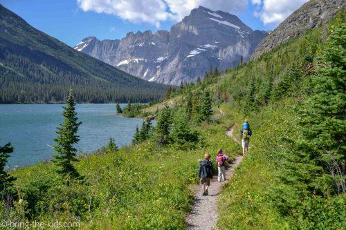 hike with kids, many glacier hiking