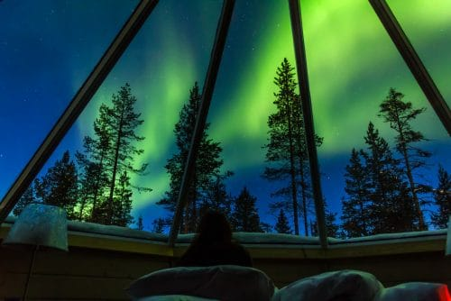 northern lights with kids