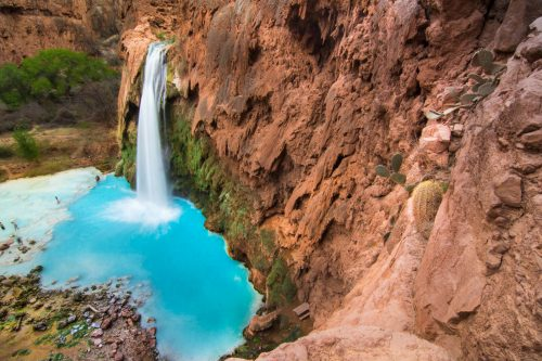 havasu falls with kids