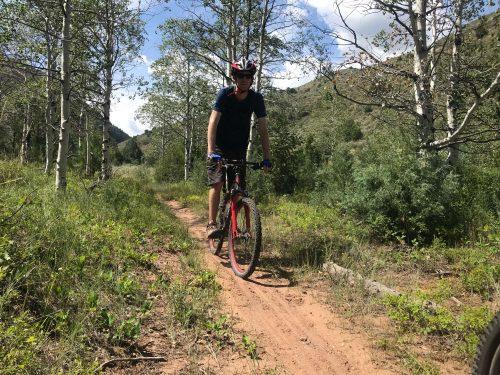 Dry fork canyon mountain biking