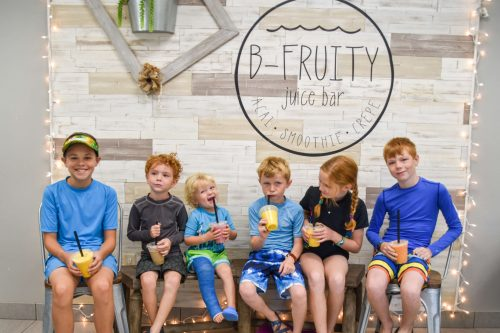 b fruity vernal